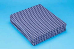 Foam Wheelchair Cushion Plaid  16  x 18  x 4