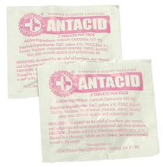 Antacid Packs with 2 Tablets (100 packs)