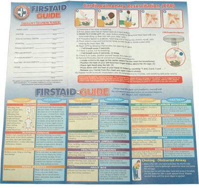 Picture of First Aid Guide (Box of 100)