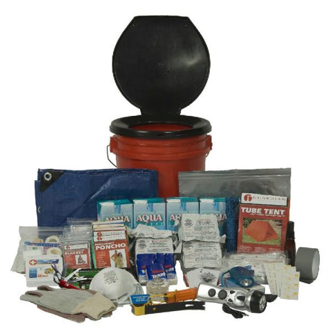 Picture of 5 Person Guardian Bucket Survival Kit