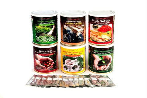 Picture of Garden Can of Preparedness Seeds