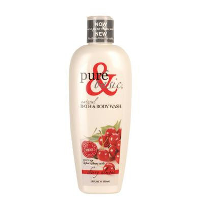 Picture of Pure and Basic Body Wash - Cherry Almond - 12 oz