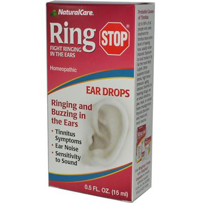 Picture of Natural Care RingStop Eardrops - 0.5 fl oz