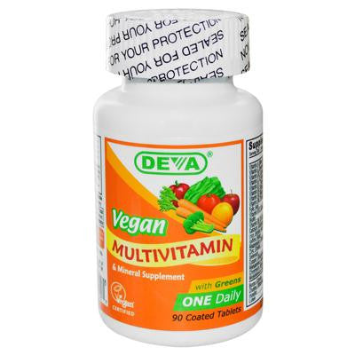 Picture of Deva Vegan Multivitamin and Mineral Supplement - 90 Coated Tablets