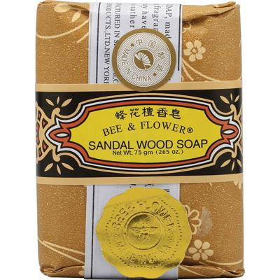 Picture of Bee and Flower Soap Sandalwood - 2.65 oz - Case of 12