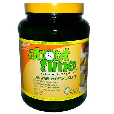 Picture of About Time Whey Protein Isolate Birthday Cake - 2 lbs
