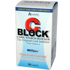 Absolute Nutrition C Block Carb and Starch Blocker - 90 Caplets