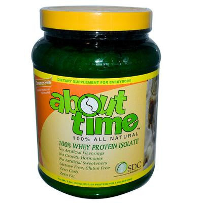 Picture of About Time Whey Protein Isolate Cinnamon Swirl - 2 lbs