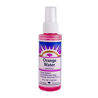 Picture of Heritage Store Atomizer Flower Water - Orange - 4 oz