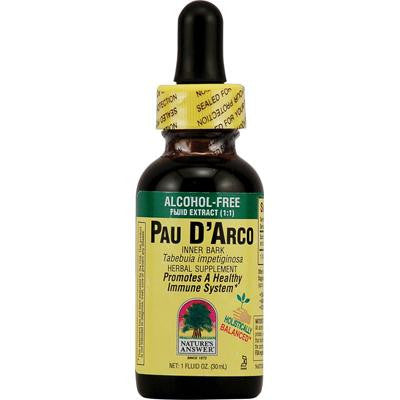Picture of Nature's Answer Pau D'Arco Inner Bark Alcohol Free - 1 fl oz