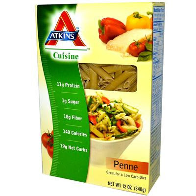 Picture of Atkins Cuisine Penne Pasta - 12 oz
