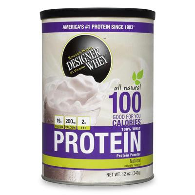 Picture of Designer Whey Natural Whey Protein - 12 oz