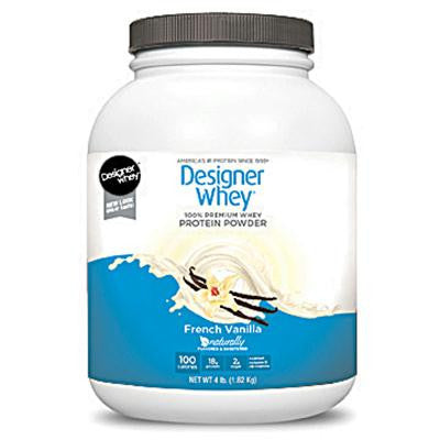 Picture of Designer Whey Protein Powder French Vanilla - 4 lbs