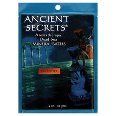 Ancient Secrets Bath Salts - Lavender - Case of Twelve, 12 Packs - 4 oz