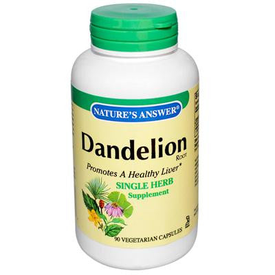 Picture of Nature's Answer Dandelion Root - 90 Vegetarian Capsules