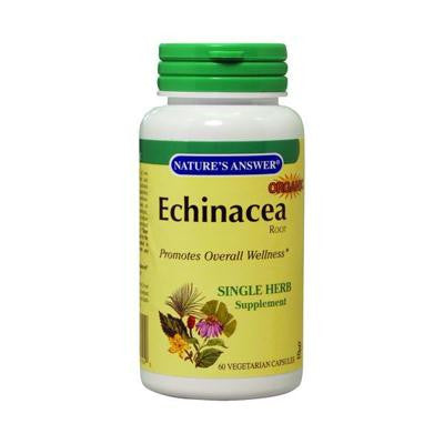 Picture of Nature's Answer Echinacea Root - 900 Mg - 60 Vcaps