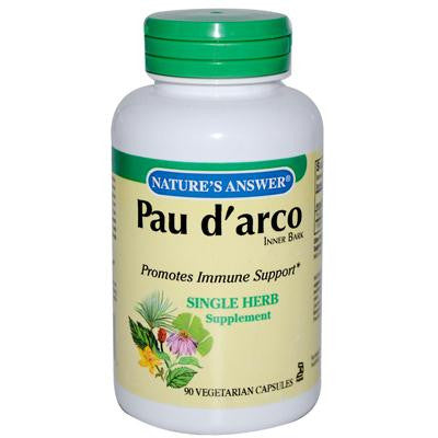 Picture of Nature's Answer Pau d'arco Inner Bark - 90 Capsules