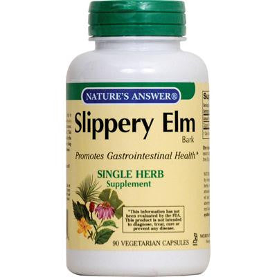 Picture of Nature's Answer Slippery Elm Bark - 90 Vegetarian Capsules
