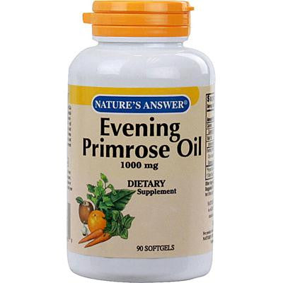Picture of Nature's Answer Evening Primrose Oil - 1000 mg - 90 Softgels
