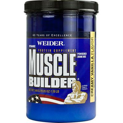 Picture of Weider Global Nutrition Dynamic Muscle Builder - Vanilla - 19.05 oz