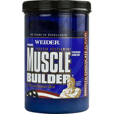 Picture of Weider Global Nutrition Dynamic Muscle Builder - Chocolate - 19.05 oz