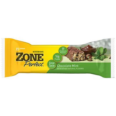 Picture of Zone Nutrition Bar - Chocolate Mint - Case of 12 - 1.76 oz