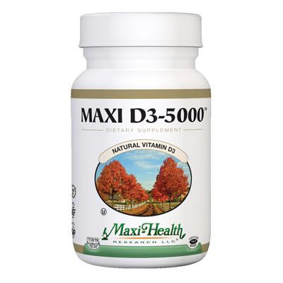 Picture of Maxi Health Maxi D3-5000 - 90 Tablets