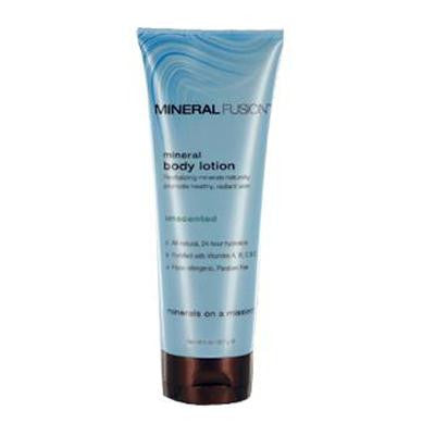 Picture of Mineral Fusion Mineral Body Lotion Unscented - 8 fl oz