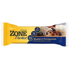 Zone Nutrition Bar - Blueberry Pomegranate - Case of 12 - 1.76 oz