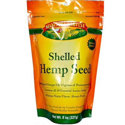 Picture of Manitoba Harvest Shelled Hemp Seed - Case of 8 - 8 oz