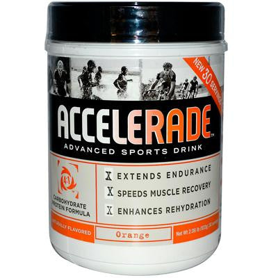 Picture of PacificHealth Labs Accelerade Advanced Sports Drink Orange - 2.06 lbs