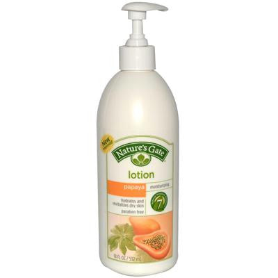 Picture of Nature's Gate Moisturizing Lotion Papaya - 18 fl oz