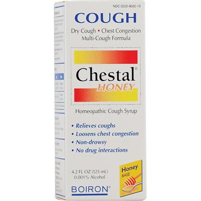 Picture of Boiron Chestal Cough Syrup Honey - 4.2 fl oz