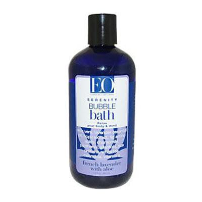 Picture of EO Products Bubble Bath Serenity French Lavender with Aloe - 12 fl oz