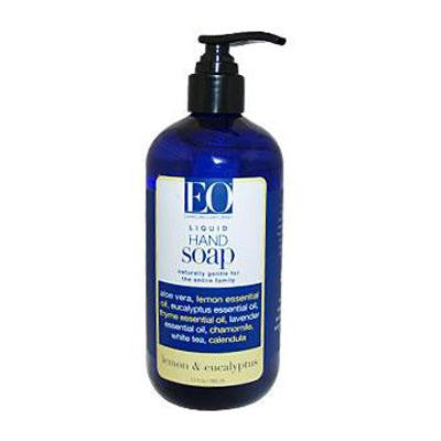 Picture of EO Products Liquid Hand Soap Lemon and Eucalyptus - 12 fl oz