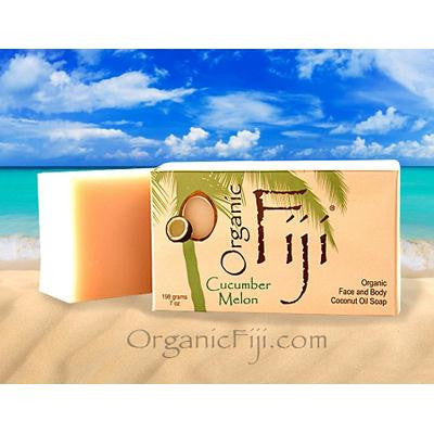 Picture of Organic Fiji Coconut Oil Soap Organic Cucumber - 7 oz
