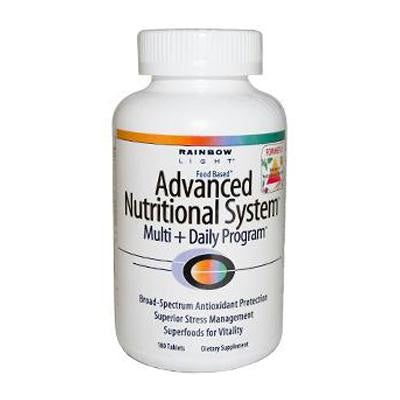 Picture of Rainbow Light Advanced Nutritional System - 180 Tablets
