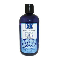 EO Products Bubble Bath Nitey Nite Blue Chamomile and Lavender - 12 fl oz