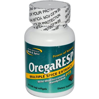 Picture of North American Herb and Spice OregaRESP - 60 Softgels