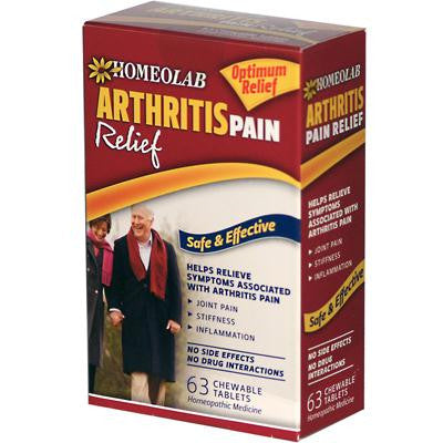 Picture of Homeolab USA Arthritis Relief - 63 Tablets