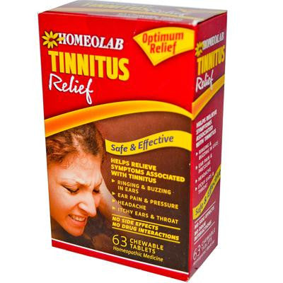 Picture of Homeolab USA Tinnitus Relief - 63 Tablets