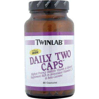 Picture of Twinlab Daily Two Caps without Iron - 90 Capsules