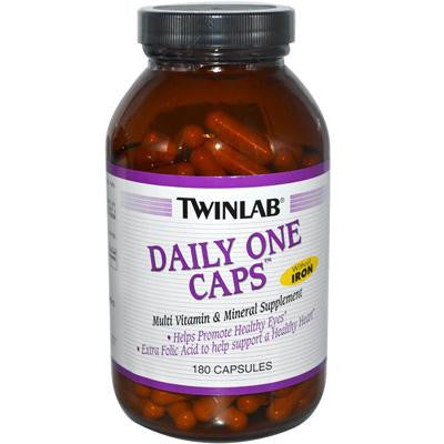 Picture of Twinlab Daily One Caps without Iron - 180 Capsules