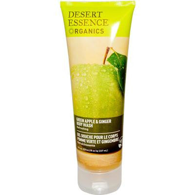 Picture of Desert Essence Body Wash Green Apple and Ginger - 8 fl oz