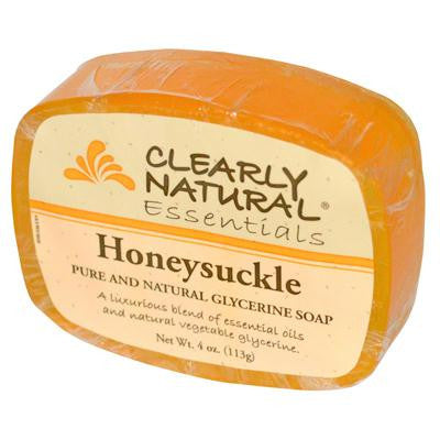 Picture of Clearly Natural Glycerine Bar Soap Honeysuckle - 4 oz