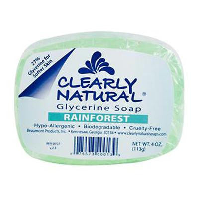 Picture of Clearly Natural Glycerine Bar Soap Rainforest - 4 oz