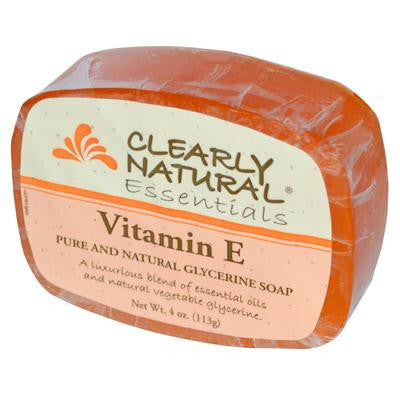 Picture of Clearly Natural Glycerine Bar Soap Vitamin E - 4 oz
