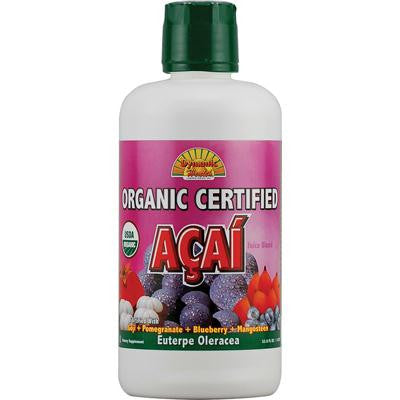 Picture of Dynamic Health Organic Certified Acai Berry Juice Blend - 33.8 fl oz