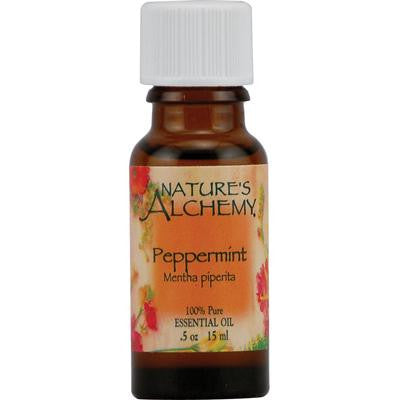 Picture of Nature's Alchemy 100% Pure Essential Oil Peppermint - 0.5 fl oz