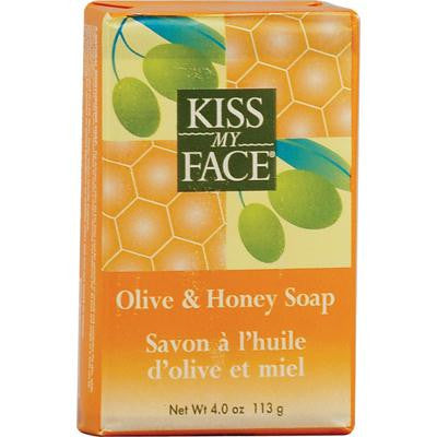 Picture of Kiss My Face Bar Soap Olive and Honey - 4 oz